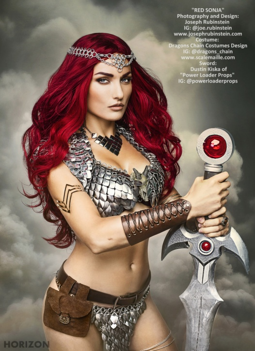 10-WILDCARD Tatiana Dekhtyar-CosplayQueen.RED_SONJA_by_JOE_RUBINSTEIN