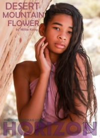 DESERT MOUNTAIN FLOWER- ZENNA DEPAZ